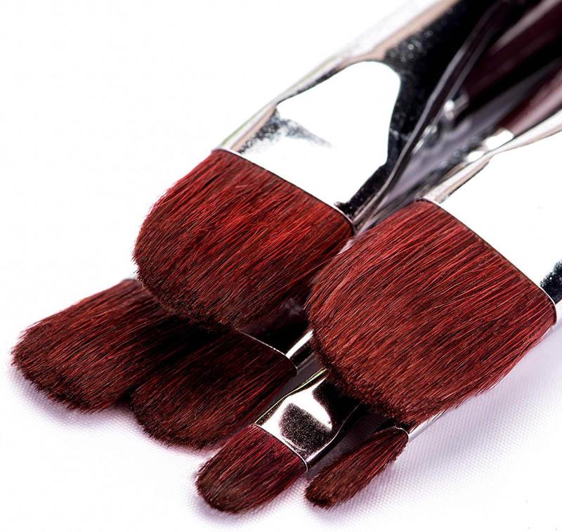 ᐅ Les 3 meilleurs pinceaux de martre rouge !