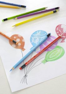 meilleurs crayons de couleur effaçables