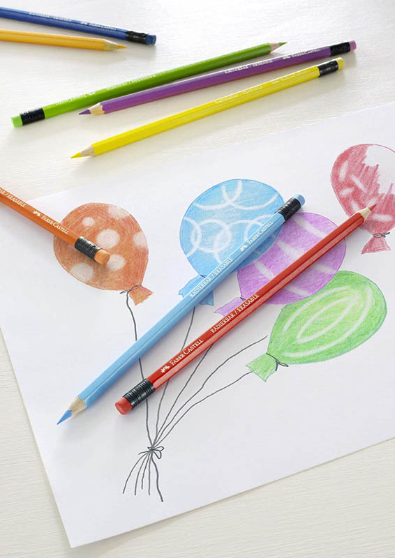 ᐅ Les 3 meilleurs crayons de couleur effaçables !